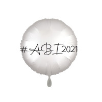 Folienballon ABI 2021 Partydeko Abi Abschluss