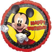 Mickey Mouse Folienballon Happy Birthday Partydeko Kindergeburtstag