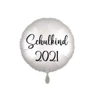 Folienballon Schulanfang 2021 Partydeko Einschulung Schulkind