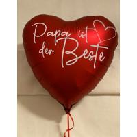 Folienballon Vatertag Papa du bist der Beste Ballon