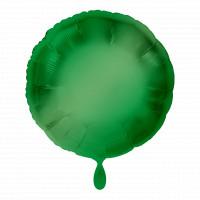 Folienballon Rund Grün Art.20557 Partydeko Ballon