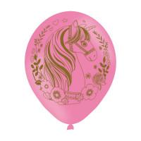 Einhorn Luftballon Partydeko Geburtstag Kindergeburtstag Unicorn