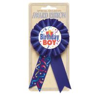 Button Birthday Boy Partydeko Geburtstag