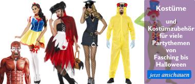 Kostüme und Kostümzubehör