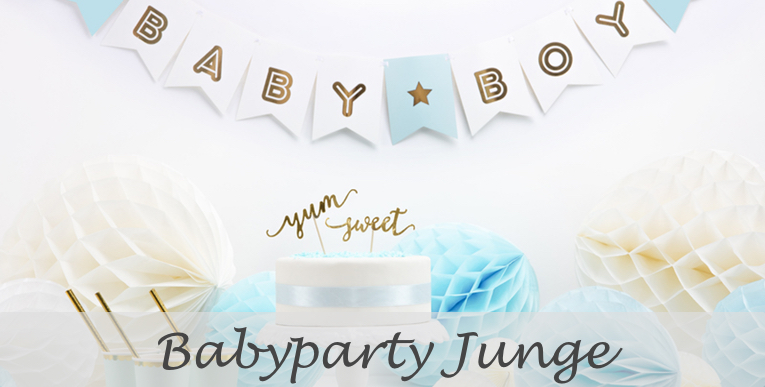 Babyparty Junge