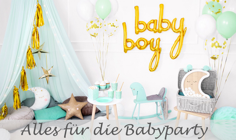 Partydeko Babyparty