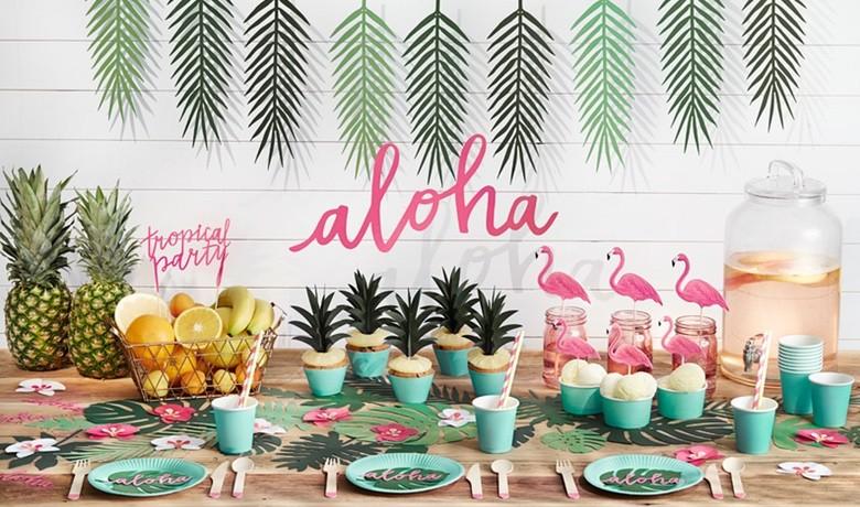 Aloha Sommerparty Deko