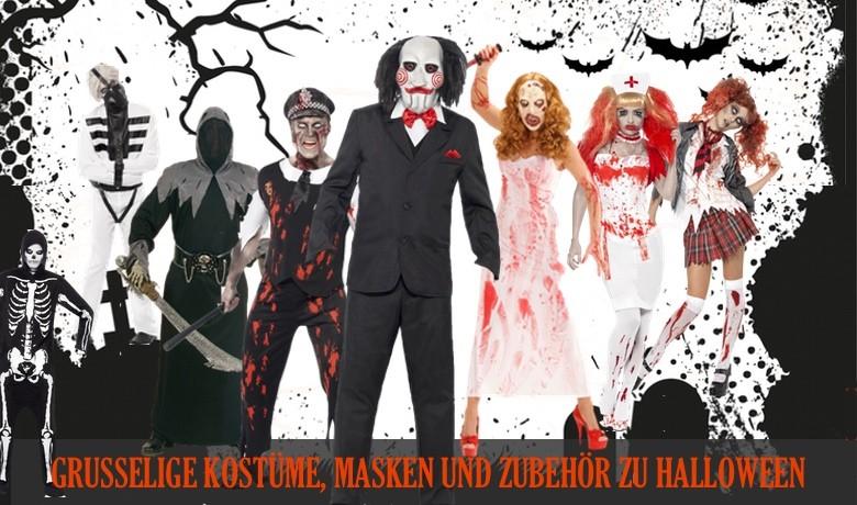 Halloween Kostüme, Masken und Zubehör