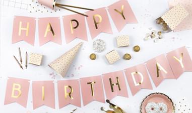Partydeko Happy Birthday
